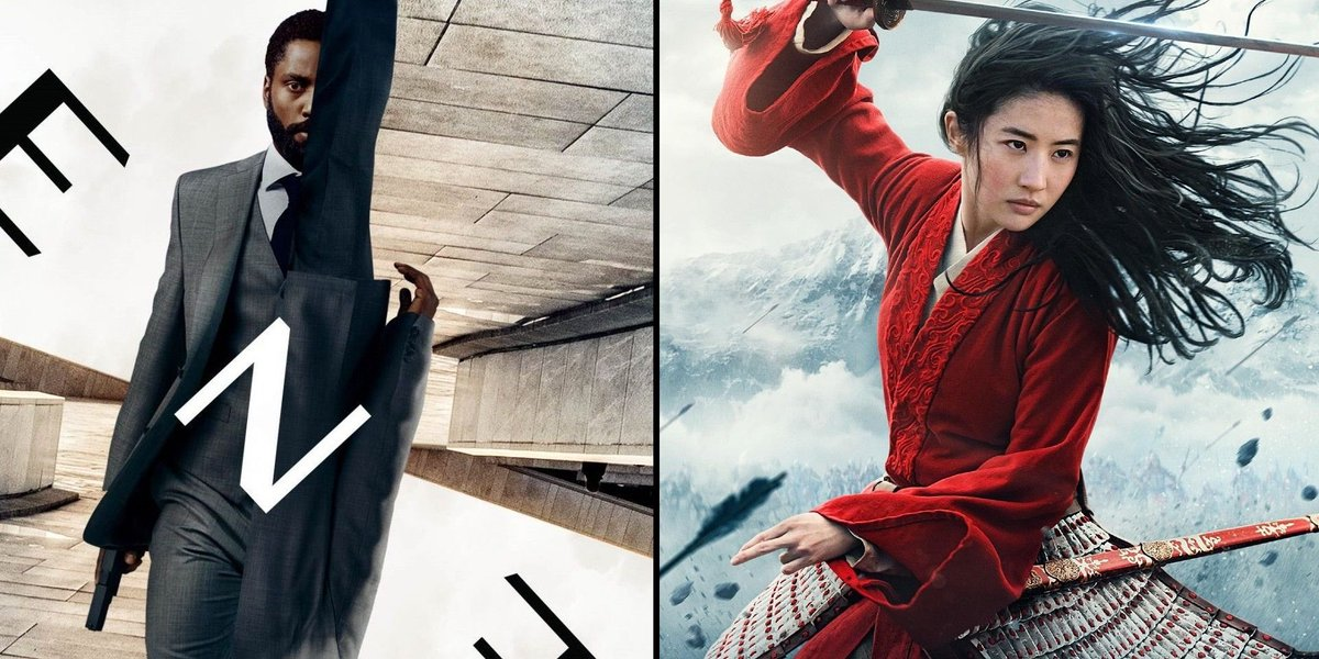 Reportedly, 'Mulan' has made more money than 'Tenet.'   If this is true, could this spell the beginning of the end for movie theaters..? 😢🍿  https://t.co/c01Wr2wuzp https://t.co/Dv2QQB58KU