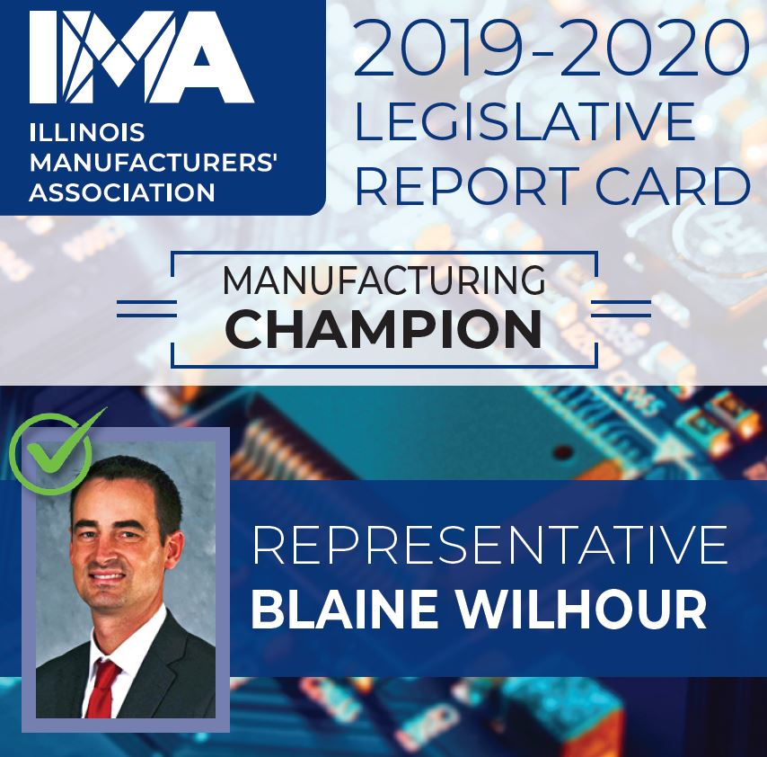 The IMA thanks State Representative @BlaineWilhour for being a Champion of #Manufacturing in Illinois!  https://t.co/zs3Y4QYQLN https://t.co/pRhrfG4uPk