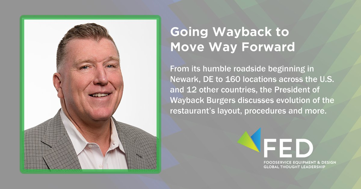How does @waybackburgers continue to evolve its layout, procedures and more? Find out from President, Patrick Conlin, during our first FED Lunch & Learn session on October 6. Register for this session and all others at https://t.co/rOlh2ZVTBP https://t.co/Z20NGiPG1H