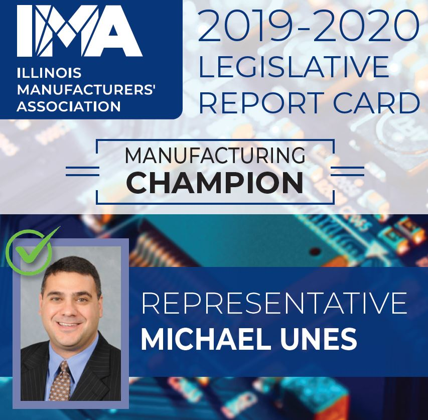 The IMA thanks State Representative @mikeunes for being a Champion of #Manufacturing in Illinois!  https://t.co/zs3Y4QHfUf https://t.co/8DVxUhpuK0