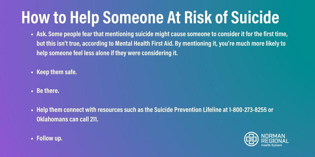 In honor of National Physician Suicide Awareness Day, we share how to help someone at risk. #areyouokay #NPSA #NPSADay @CORD_EM https://t.co/27iGWsF6aW