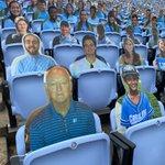 Image for the Tweet beginning: Where's Waldo: Tar Heel edition