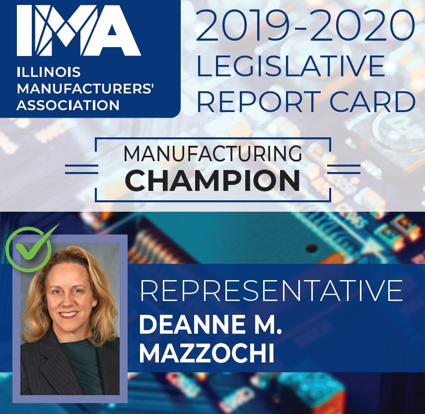 The IMA thanks State Representative @Rep_Mazzochi for being a Champion of #Manufacturing in Illinois!  https://t.co/zs3Y4QHfUf https://t.co/7XOrq84T4b