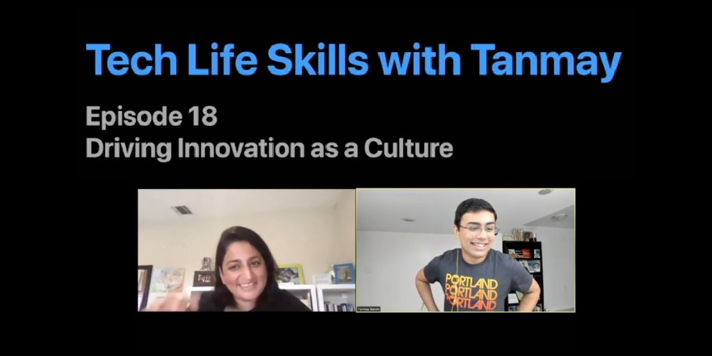 Watch our friend Tanmay Bakshi and Global Director of #Cloud & #AI at @IBM, Sheetal Rishi, discuss what kind of culture drives innovation, taking a look at some key traits that enable a successful career. https://t.co/hAtmZjyAOp @TajyMany https://t.co/MDtMERnnid