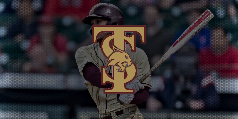 Texas State, which returns 9 seniors from last year's club, including the addition of 2 graduate seniors — Purdue's Bryce Bonner & Houston Baptist's Johnny Gonzales. @TxStateBaseball is a sleeper Top 25 pick with the 21 campaign fast approaching. 🔗 d1ba.se/33nEpbI