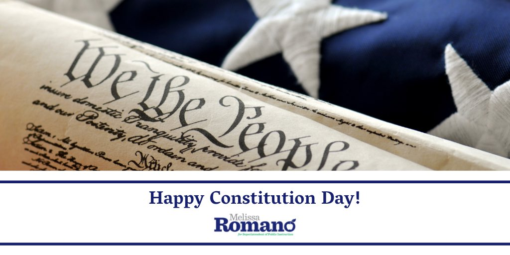 Happy Constitution Day! In my classroom, we always celebrated Constitution Day by creating our own Classroom Constitution. This helped students develop a deeper understanding of civics and responsibility to their classmates. #mtpol #mtedu #mtedchat https://t.co/ZKnWFFoj5A