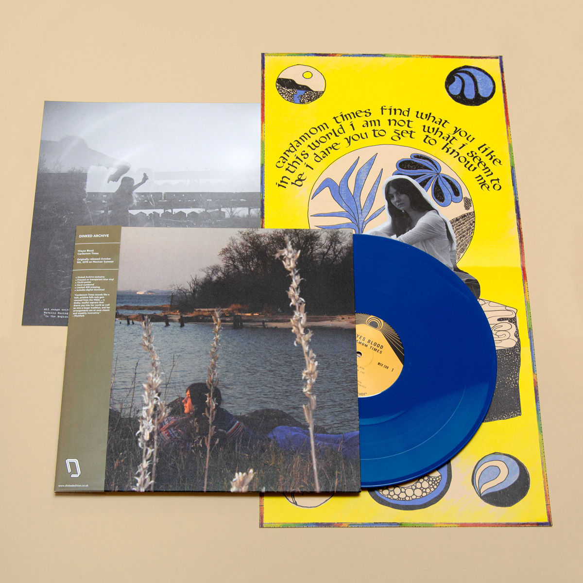 The fabulous folks at @MexicanSummer sent us some sneak peeks of the LUSH @WeyesBlood Cardamom Times #DinkedEdition Archive02. dinkededition.co.uk/weyes-blood-ca… Those of you who were lucky enough to grab one of these are clearly in for a treat for your eyes & ears! @orchtweets