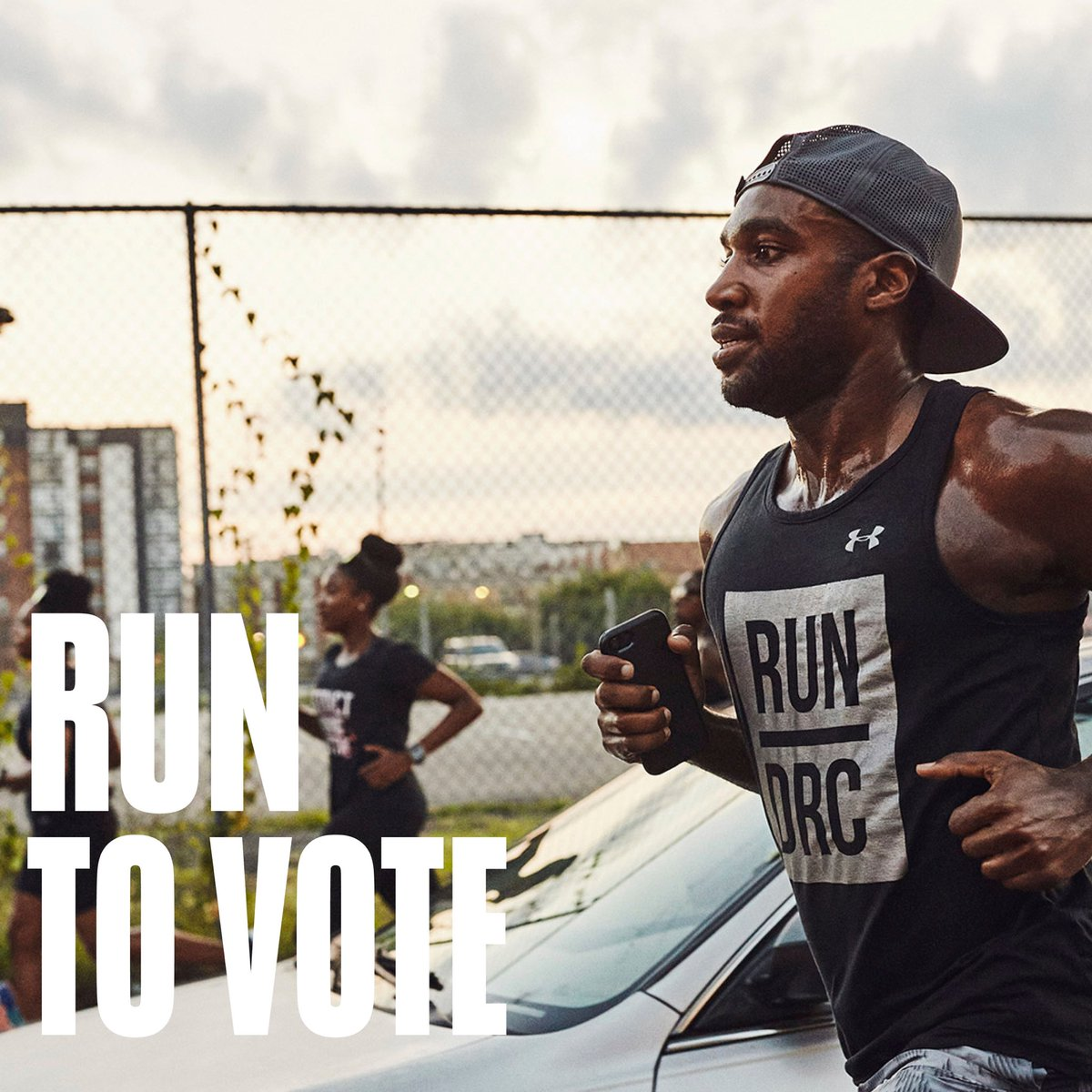 Democracy is the ultimate team sport, which is why this election season we want you to Get Registered and Go Vote. Go to https://t.co/dnGSvnN2Uz to see if you're registered to vote and get involved. #RunToVote https://t.co/FJLtCNsEHf