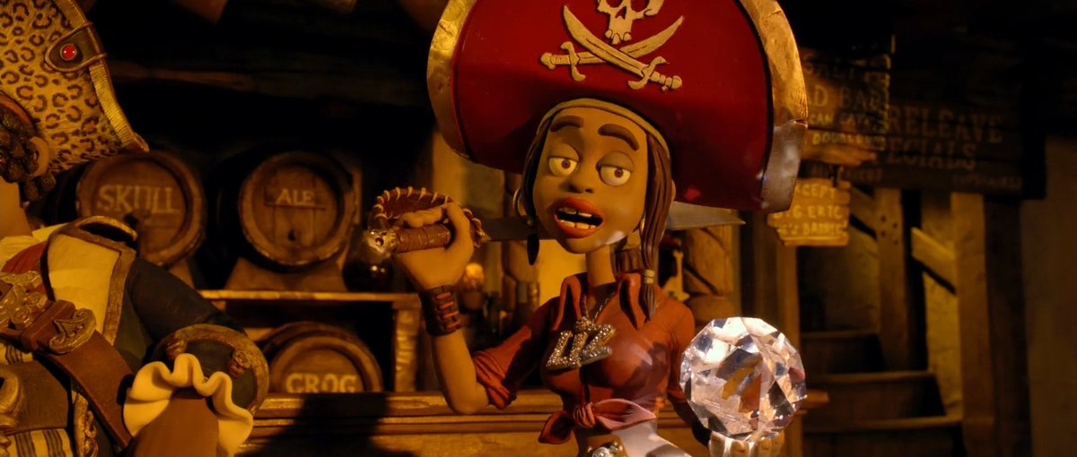 Reference Emporium On Twitter Screenshots Of Cutlass Liz From The Pirates In An Adventure With Scientists Aka The Pirates Band Of Misfits Albums Https T Co Vte0f1oq8v Or Https T Co Wrmsky6qdr Https T Co Yfbhq7xoso