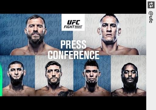 Watch #UFC Vegas 11: #PressConference https://t.co/G5WZQ2B77J #UFC https://t.co/4CSHQrmjls