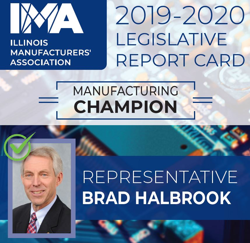 The IMA thanks State Representative @BradHalbrook for being a Champion of #Manufacturing in Illinois!  https://t.co/zs3Y4QHfUf https://t.co/c08gsSDp9M