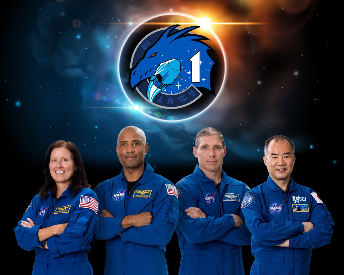 Crew-1 will be launching to the @space_station in just over a month! 🚀 Hear from agency, program, and SpaceX leaders -- and the astronauts themselves -- on Tuesday, September 29: go.nasa.gov/2RIa0Pz