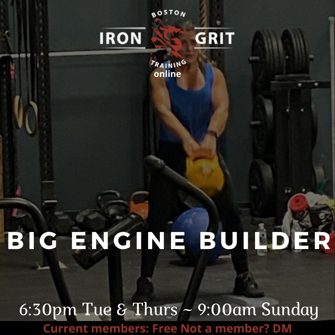 6:30pm BIG Engine ~ outside & online ~ w/ @big_coachb Current Members: Reserve your spot! Not a member? DM to learn more Link here: https://t.co/f90OpbmwDl #bigengine #triplec #3c #communityconsistencycomitted https://t.co/X2S5n2YjDt