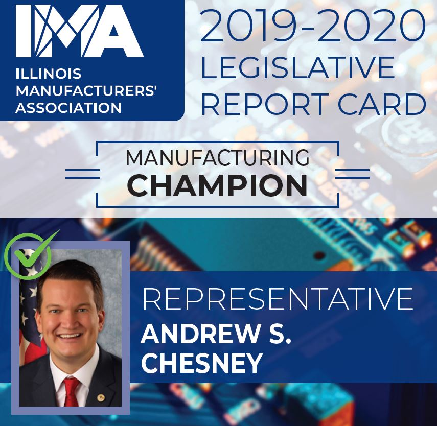 The IMA thanks State Representative #AndrewChesney for being a Champion of #Manufacturing in Illinois!  https://t.co/zs3Y4QHfUf https://t.co/kjlwsiBANy