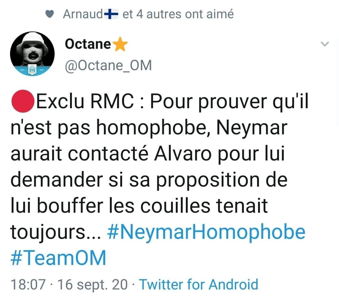 #NeymarHomophobe #ajamaislespremiers #om #danseuse https://t.co/ZoDEQkwDSx