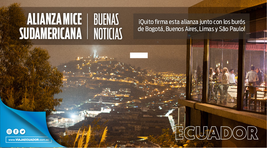 ¡Felicitaciones @MeetInQuito por la firma conjunta con los burós @bogotabureau @visitesaopaulo @LimaConvention @BACVBureau por la #AlianzaMICESudamérica para reactivar la #IndustriadeReuniones en la región! https://t.co/riUThTdCG0