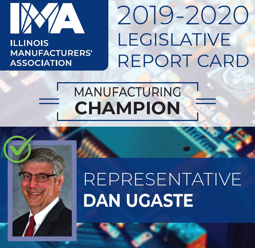 The IMA thanks State Representative #DanUgaste for being a Champion of #Manufacturing in Illinois!  https://t.co/zs3Y4QHfUf https://t.co/nYV0aS00gY