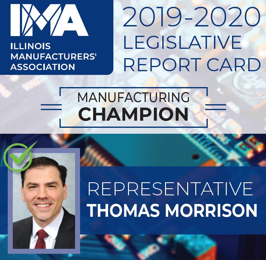 The IMA thanks State Representative @repMorrison for being a Champion of #Manufacturing in Illinois!  https://t.co/zs3Y4QHfUf https://t.co/HUsLcZgQyO
