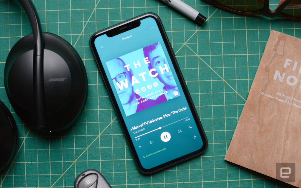 Spotify belatedly adds notifications for new podcast episodes