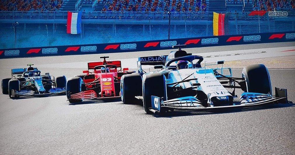 ERN Division 1 at Zandvoort 🥇  Photo credit ERN Speedy93 📷  #ern #ernf1 #formula1 #racing #xbox #f1esports #simracing #f1game #gaming #f1racing #grandprix #esports #formulaone #motorsport #f1gameplay #f12020 #f1 #f12020game #f12020season #f1leagueracing https://t.co/A67gnJbTvU