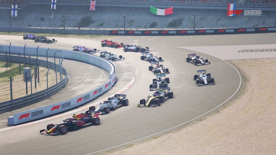 ERN Division 3 at Zandvoort 🥉  Photo credit: @DaimZero, Massey555 & @fin2racing 📷  #ern #ernf1 #formula1 #racing #xbox #f1esports #simracing #f1game #gaming #f1racing #grandprix #esports #formulaone #motorsport #f1gameplay #f12020 #f1 #f12020game #f12020season #f1leagueracing https://t.co/cXtlBhZxSN