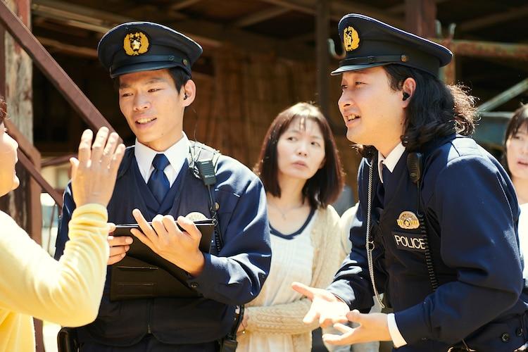 かが屋がドラマ「マリーミー!」で警察官役、胸を張って親に見せられる(コメントあり)