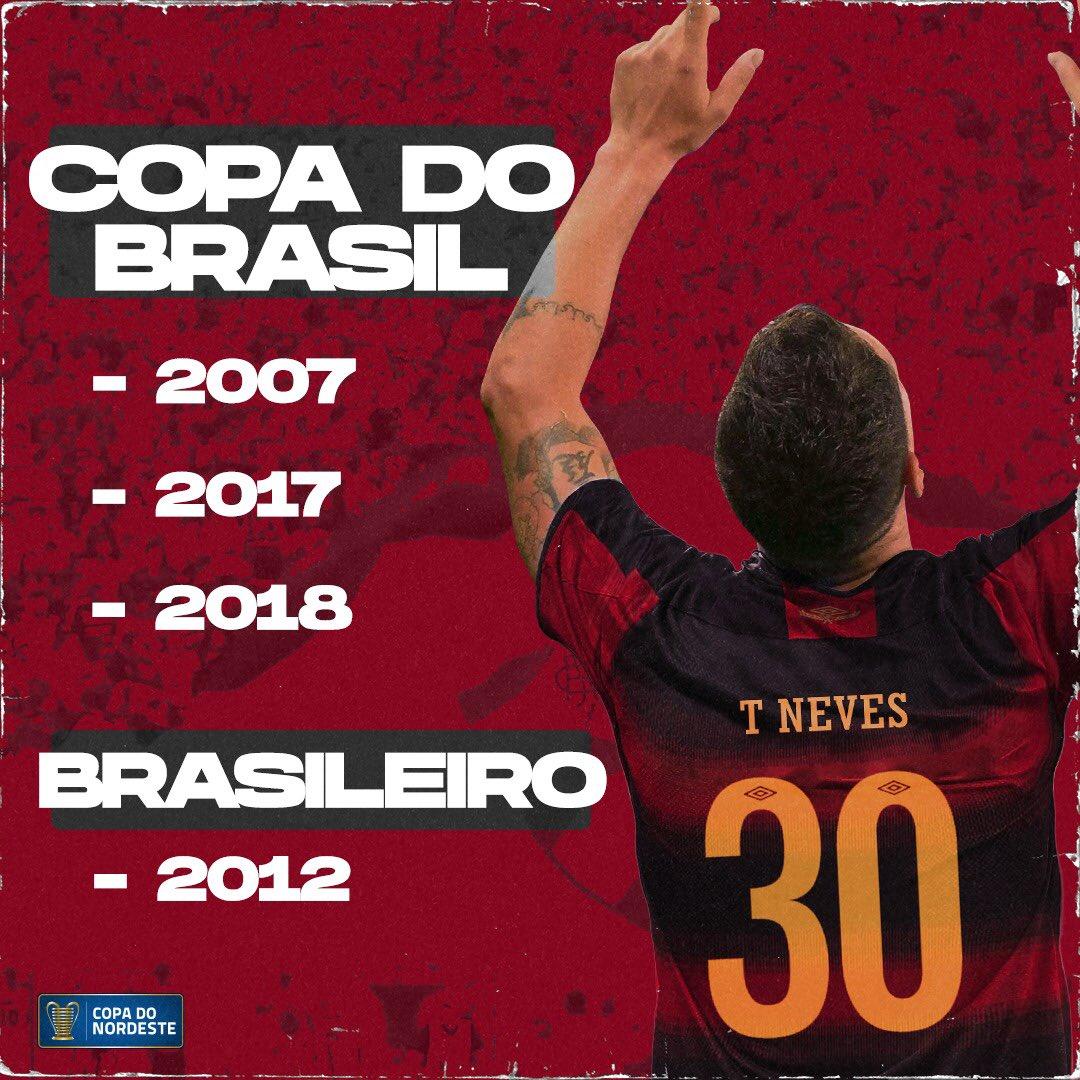 Thiago Neves tem uma bagagem pesada! Será que com o Leão da Ilha ele aumenta seu hall particular de taças? Uma Lampions quem sabe?! 👀🏆 https://t.co/c88mKqI4AQ