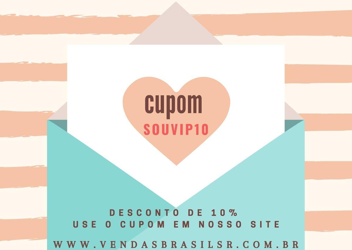 Compre online. Envio para todo Brasil. Produtos de qualidade e varias Ofertas. Aproveite o cupom de desconto!  Acesse: https://t.co/q4fI6aPPU3 Redes Sociais: @vendasbrasilsr  #novidades #brinquedos #compreagora #ofertas #lojaonline #vemconferir #variedades #loja #desconto https://t.co/9uncDxAfOQ