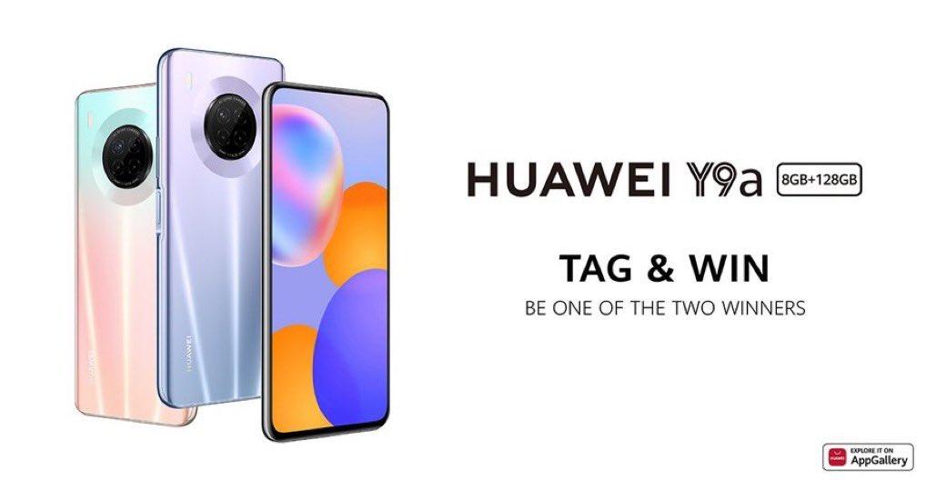 @HuaweiArabia #HUAWEIY9a أحدث هواتف شركة هواوي هو هاتف Y9a. الذي يمتلك سوبر كاميرا وسوبر شحن - يمكنك طلبه الآن وستحصل على  ( هدية سماعة) @TalallMadah @al3alawi_ @rasek_0 https://t.co/uX80TmJYuY