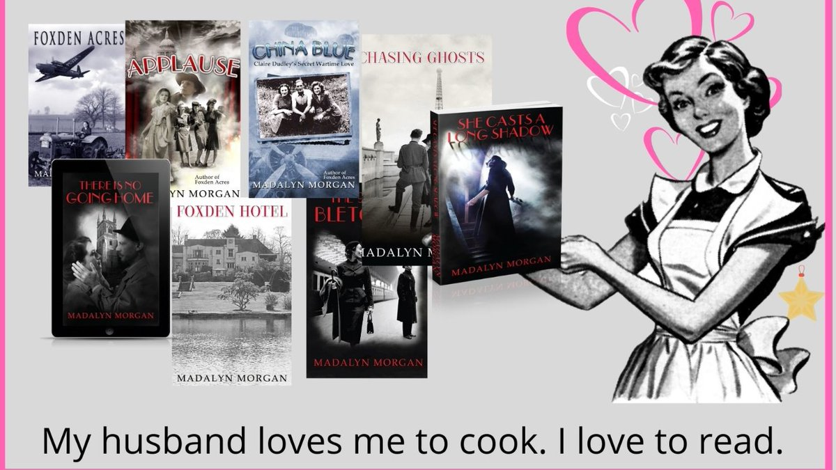 """The lives and loves of the Dudley Sisters 1939 to 1959 https://t.co/NC6EHnjIvv  #Landgirls #showgirls #Saboteurs #FrenchResistance #Spies #love #PsychologicalThriller   #Paperback #Kindle #KindleUnlimited  I like watching television too. """"These books would make a great TV series"""" https://t.co/LBRpJxi7ou"""