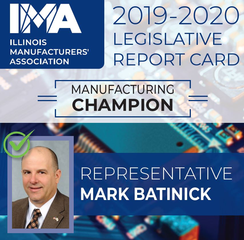The IMA thanks State Representative @mbatinick for being a Champion of #Manufacturing in Illinois!  https://t.co/zs3Y4QHfUf https://t.co/HeTxaOyQm2