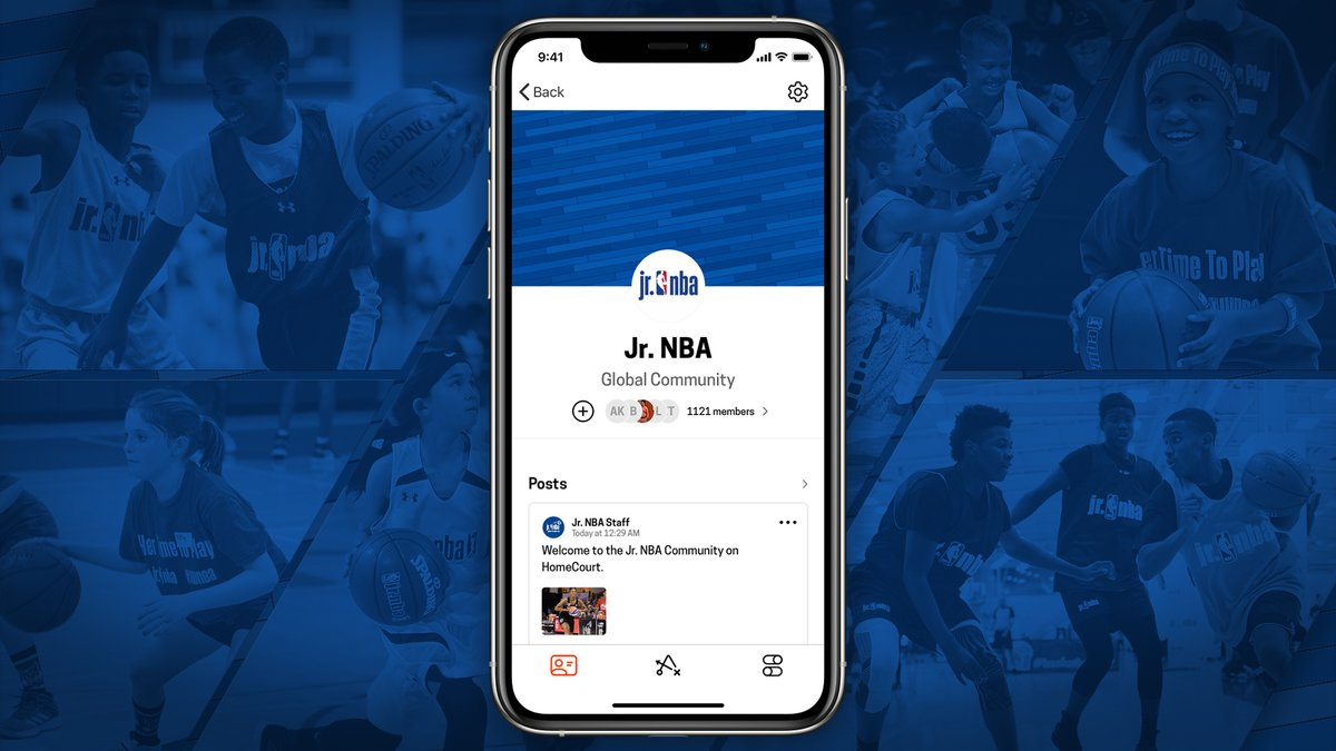 Join the Jr. NBA HomeCourt Community to stay active, work on your game, and compete against other talented players from around the world. Competitions and drills will happen weekly. Do you have what it takes? 🏆  #homecourtai #stayinthegame #returntoplay https://t.co/weedMpA503
