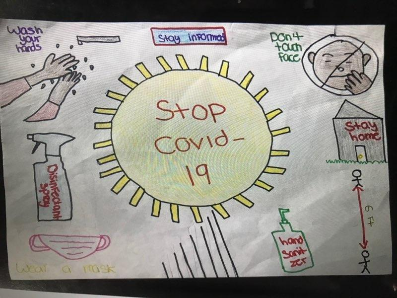 Our students are doing great things! Here are some Coronavirus posters produced by Ms. Salazar's Art Class this week. #SMSMuseumsMagnet  @MDCPS @MDCPSCentral @MiamiSup @miamimagnets https://t.co/IeDstE61EP