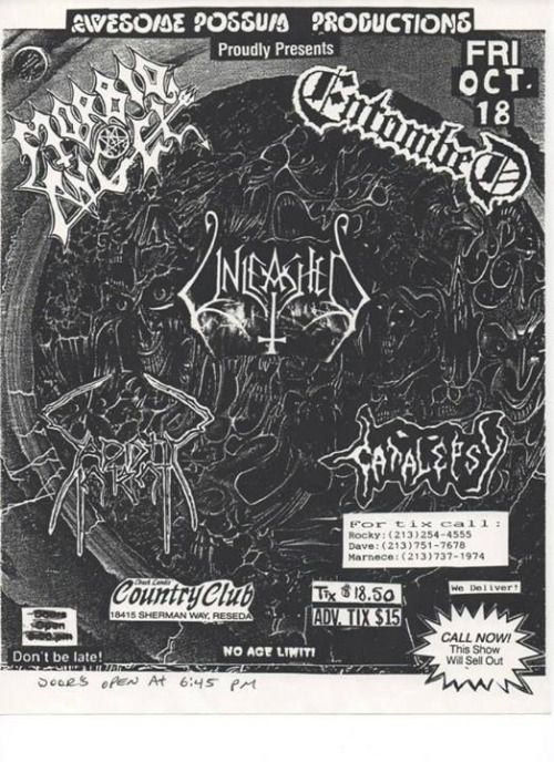 I lost count of the amount of shows Morbid Angel played with Unleashed over the years but it was a lot #morbidangel #entombed #unleashed #earacherecords #deathmetal https://t.co/9ydFeGRqRV