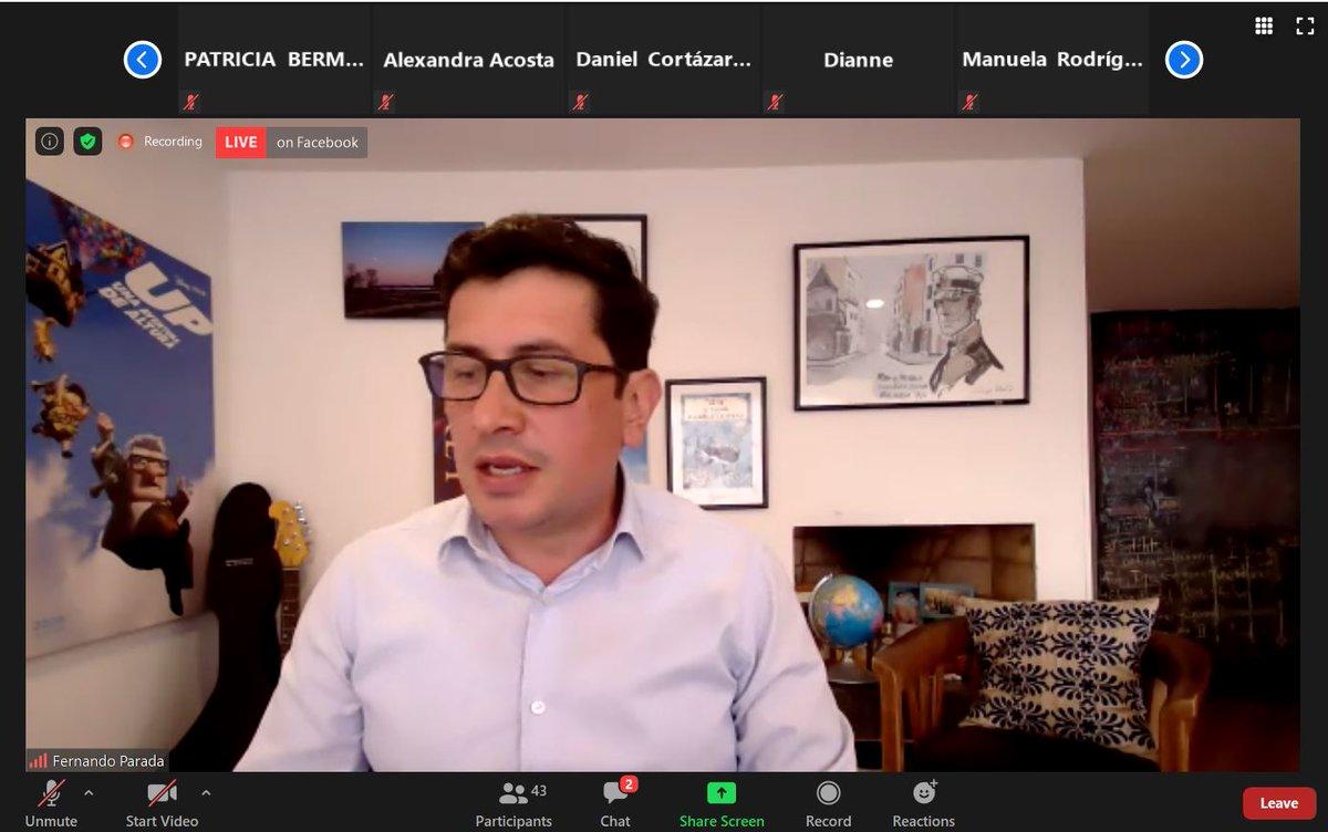 Durante el evento: Primer Año de la #LeyTIC nuestro Comisionado @fernandoparadar explica la conformación de la Sesión de Contenidos Audiovisuales de la @CRCCol y presenta los proyectos que se vienen adelantando en la Agenda Regulatoria de Contenidos Audiovisuales 2020-2021 https://t.co/GjKLu3RVCC