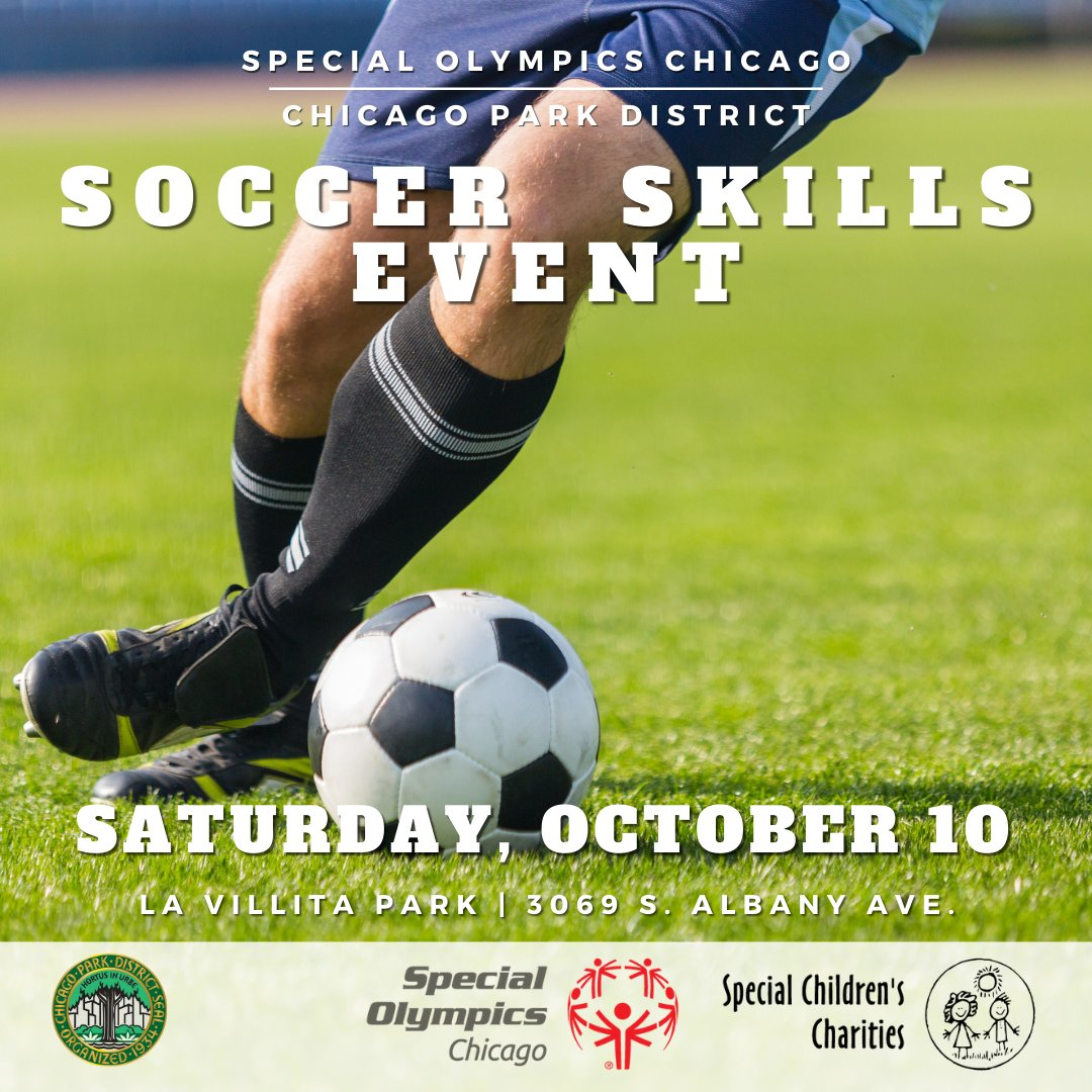 Hey athletes! Don't miss our Soccer Skills competition coming up October 10 at La Villita Park! This is a safe way to test your skills, get an award, and have fun! Register by September 23 at https://t.co/1WmS3DZxz0 https://t.co/NIgV1p7vf9