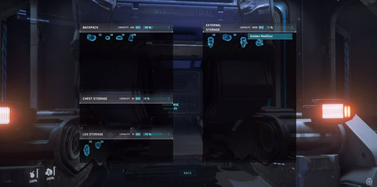 """Lundfoci (𝑙𝑢𝑛-𝑑-𝑓𝑜-𝑠𝐴𝐼) on Twitter: """"Watch the latest Inside Star  Citizen https://t.co/SUdB2clUfR Really nice to see the progression of the inventory  system. Oh, and will be nice with a """"Transfer All"""" button. @RobertsSpaceInd  #"""
