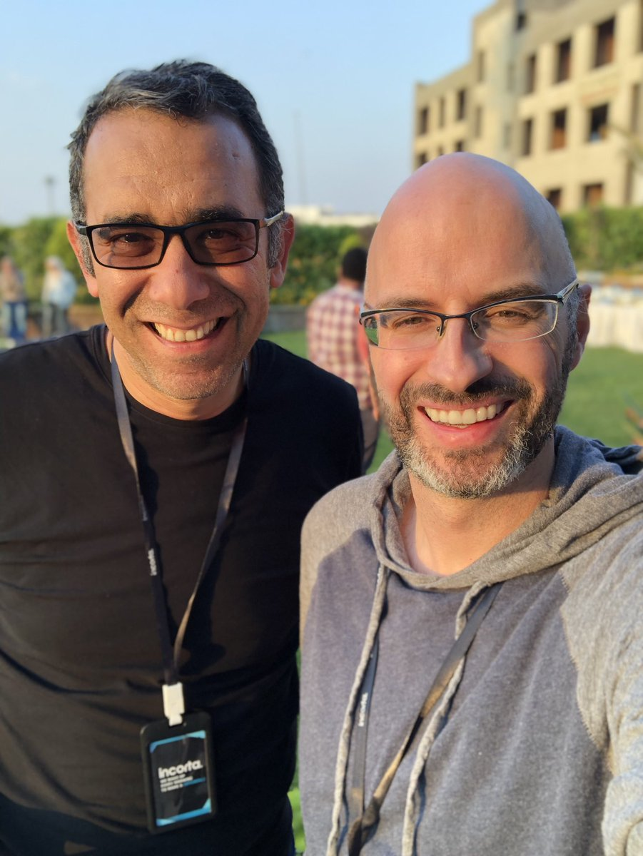 One of the best parts of my #startup journey has been some of the people I've met along the way.   Few are as inspiring as @mowael. I'm so fortunate to call him a friend, who will drop truth bombs and encouragement. #friendship #relationships #keepintouch https://t.co/qzLPF7TNJH
