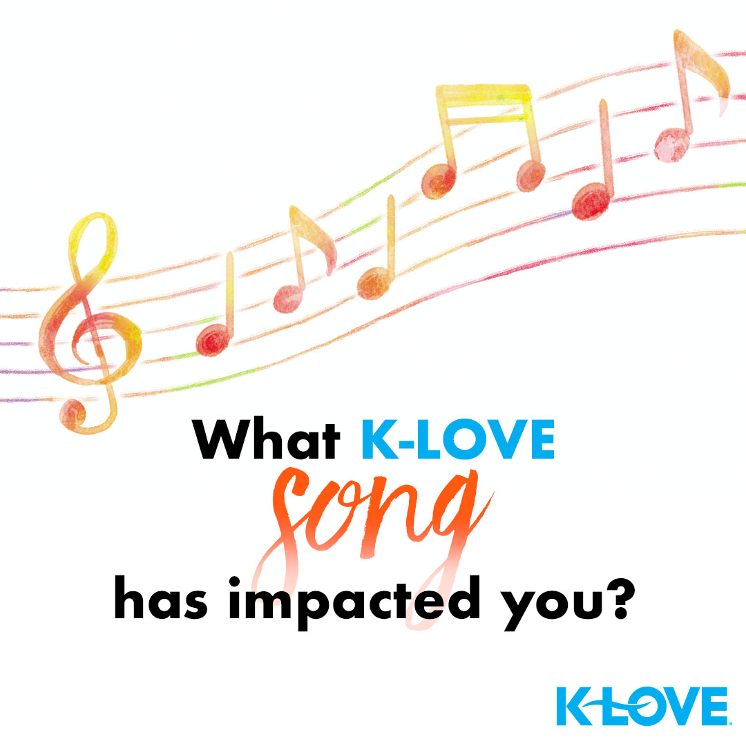 Have you ever heard the right song at the right time on K-LOVE? Tell us about your K-LOVE moment below 💙  https://t.co/YB3D9Jn7VS https://t.co/Ux0N0HhamD