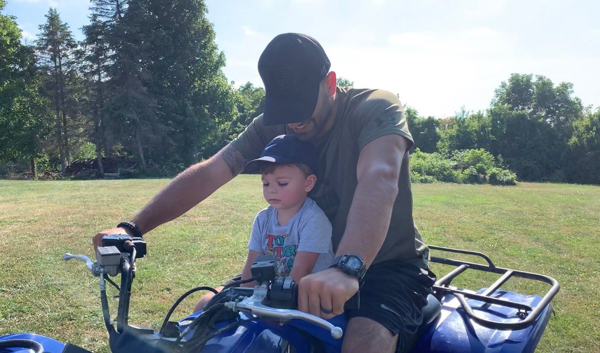 Little man loves riding the four-wheeler, and I love spending time with my son.👍🏽A win-win for us, being a good father is something I take pride in and definitely have fun doing it!💪🏽 . . . #quad #quads #4wheeler #fourwheelers #ride #riding #rider #fathers #father #dad #dadlife https://t.co/bi6zhawtqO