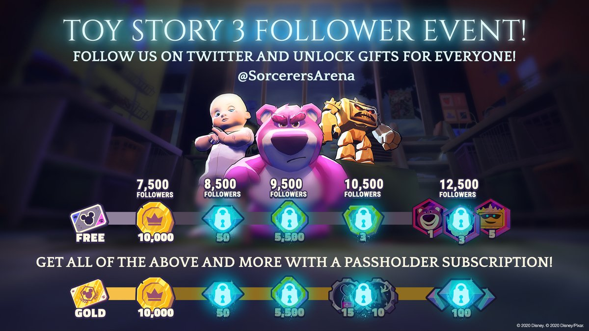Help us hit 12,500 followers! Follow us on Twitter and Retweet this post, and unlock gifts for everyone! If you subscribe to Passholder Gold youll even get even more rewards!