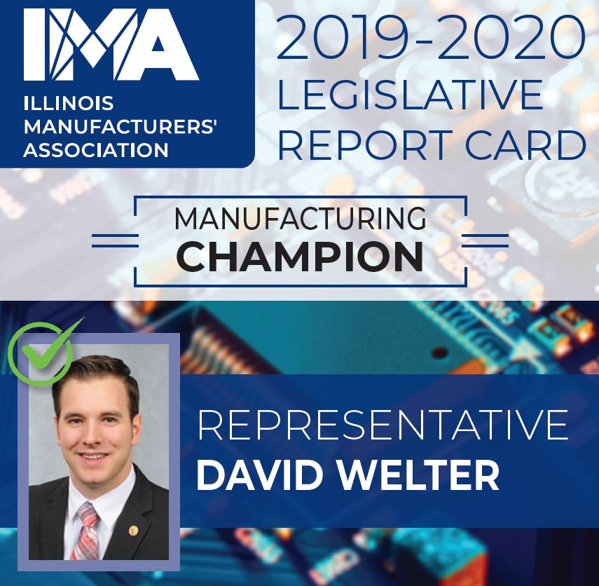 The IMA thanks State Representative @DavidAWelter for being a Champion of #Manufacturing in Illinois!  https://t.co/zs3Y4QHfUf https://t.co/gCxpozZ6RB