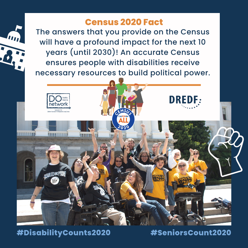 Did you know that the answers that you provide on the #Census will have a profound impact for the next 10 years, and ensures that PWD receive necessary resources. Complete yours today, before it's too late! #DisabilityCounts2020 https://t.co/iQparLGrBE