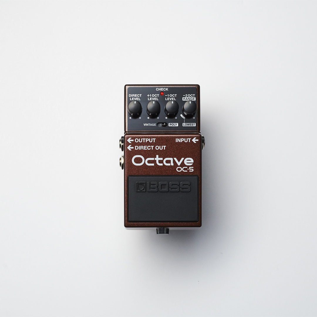 🔥 Fire Meet the NEW OC-5 Octave CompactPedal Fire 🔥  Back in 1982,BOSS developed theiconic OC-2. The World's first modern guitar and bass octave pedal. Today, we introduce a new standard in octave pedals.  🌐 Learn more: https://t.co/omaJiu9r5M https://t.co/S7uBX8Duoi