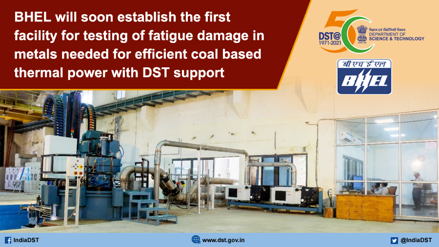 .@BHEL_India to establish high #temperature rotor test rig for #coal based #Thermal #power plants. @drharshvardhan @Ashutos61 @IndiaDST @SanjayBajpai65  https://t.co/60EROs0sNf https://t.co/nocUoXyspN