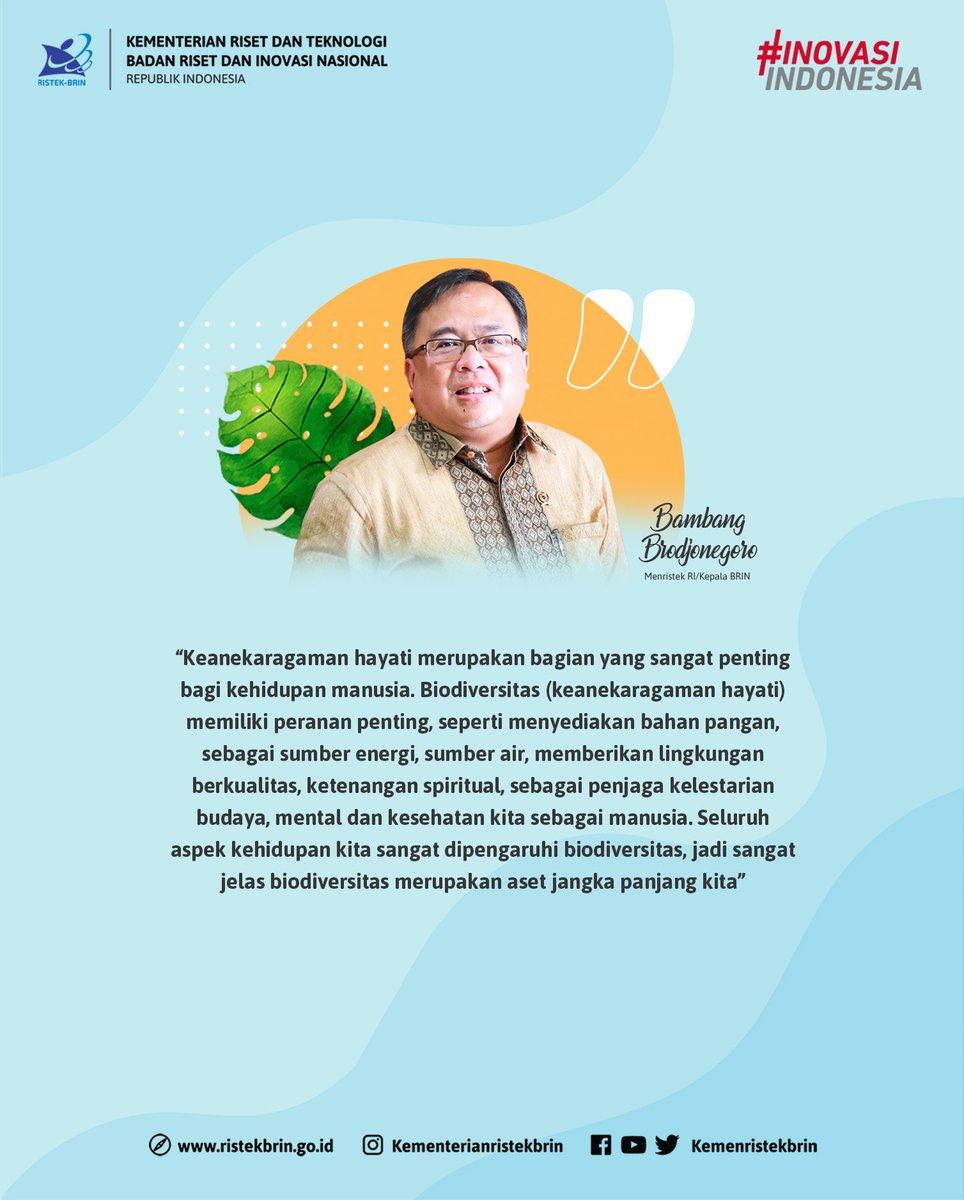 Dalam paparannya, Menteri Bambang mengatakan bahwa keanekaragaman hayati merupakan bagian yang sangat penting bagi kehidupan manusia.   #IndonesianBiodiversity #Biodiversitas #KeanekaragamanHayati https://t.co/EZdDFiqNh6