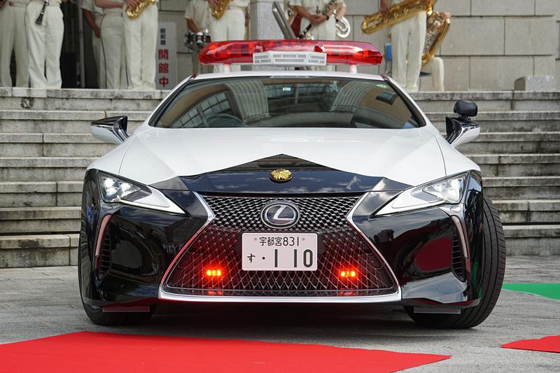 栃木県警察、「レクサスLCパトカー」初公開 1740万円の高級クーペを県民が寄贈  #レクサス #LCパトカー #栃木県警