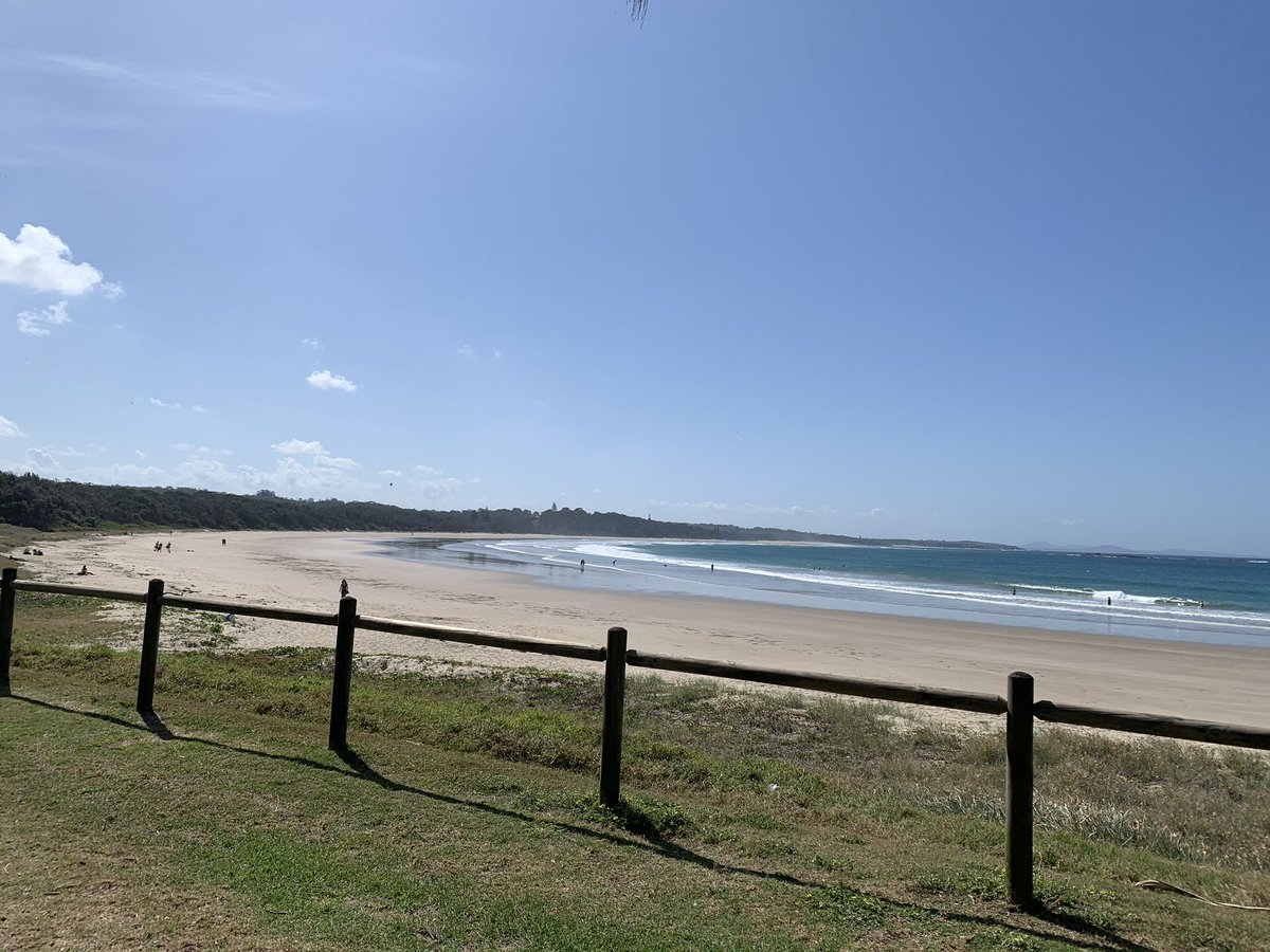 Lunch view - perfect #Woolgoolga https://t.co/a62Qvucnoe