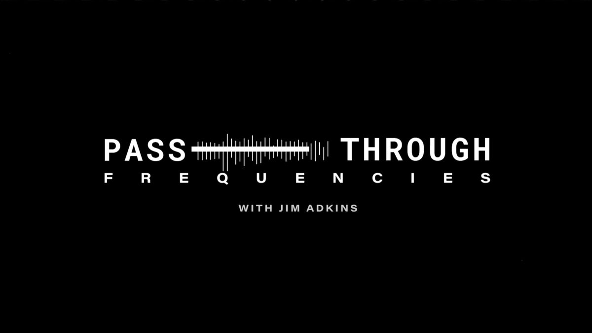 In case you missed it, there's a new episode of 'Pass-Through Frequencies' out today! 🎙 Stream it or any past episode now on @ApplePodcasts: https://t.co/hiSJb9e8im https://t.co/tP0zWz2HBh