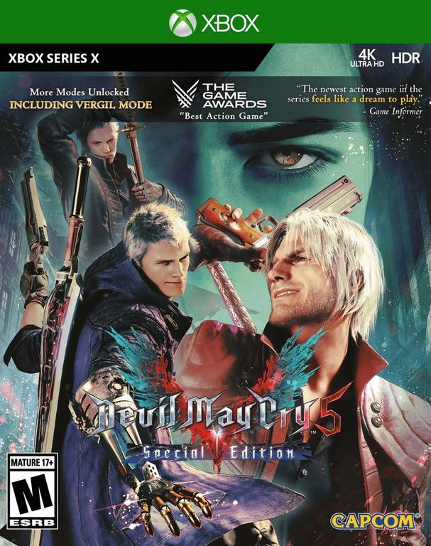 Desvelada la peculiar portada de Devil May Cry 5: Special Edition para Xbox Series X y S 2